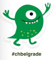 chbelgrade mascot