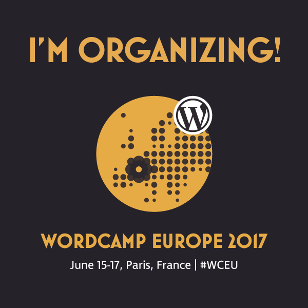 Organizing WordCamp Europe 2017